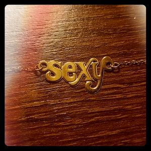 """10KY Gold """"SEXY"""" Anklet"""
